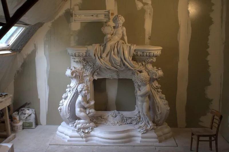 Арт бетон скульптурный дома из керамзитобетона спб