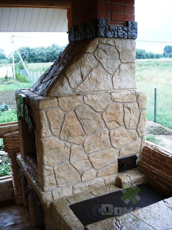 Облицовка декоративным бетоном бетон книле